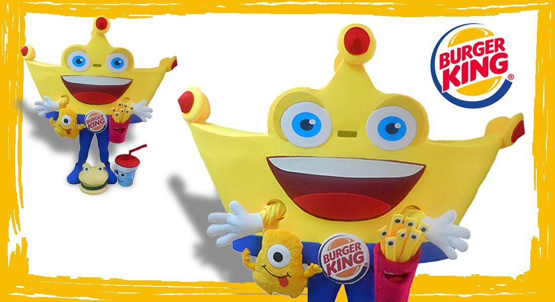 Burger King Mascotte