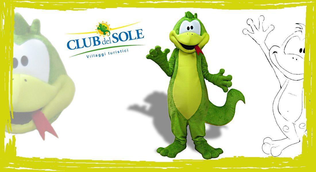 Club del Sole Geko Mascotte