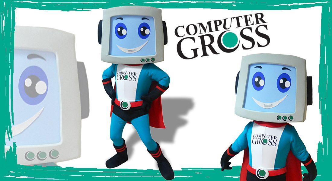 Computer Gross Mascotte
