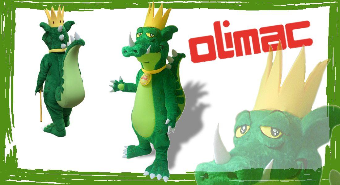 Drago Olimac Mascotte