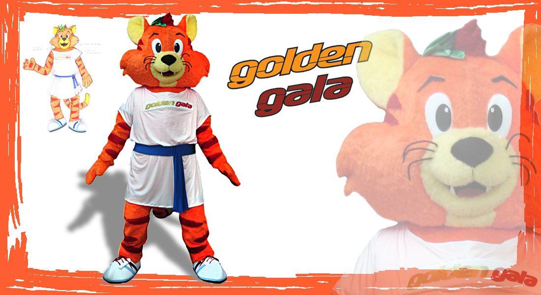 Golden Gala Mascotte Romeo