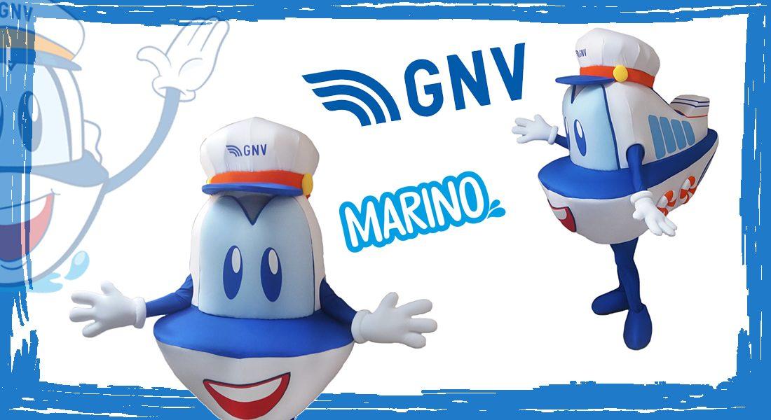 Grandi Navi Veloci Mascotte Marino