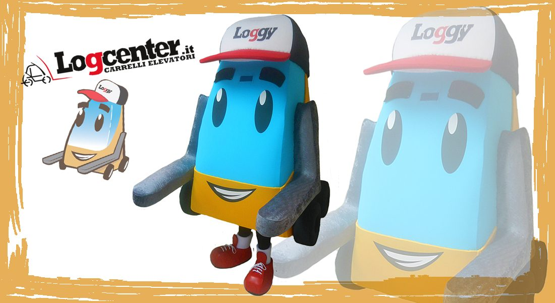 Logcenter Mascotte Loggy