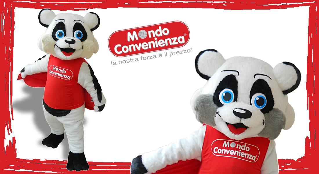 Mondo Covenienza Mascotte Panda
