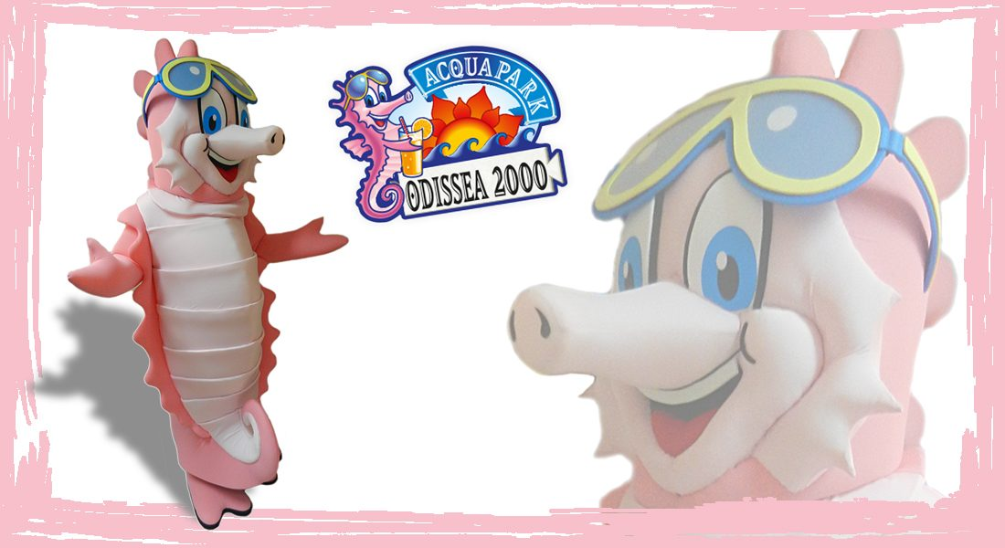 Odissea 2000 Acquapark Mascotte
