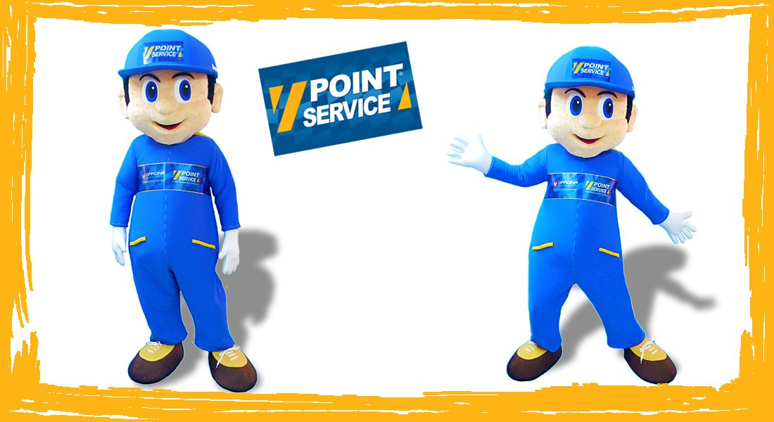 Point Service Mascotte Superpoint