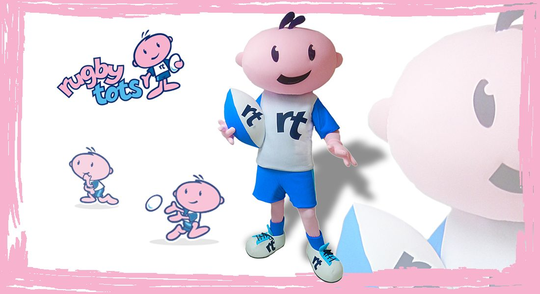 Rugby Tots Mascotte Artie