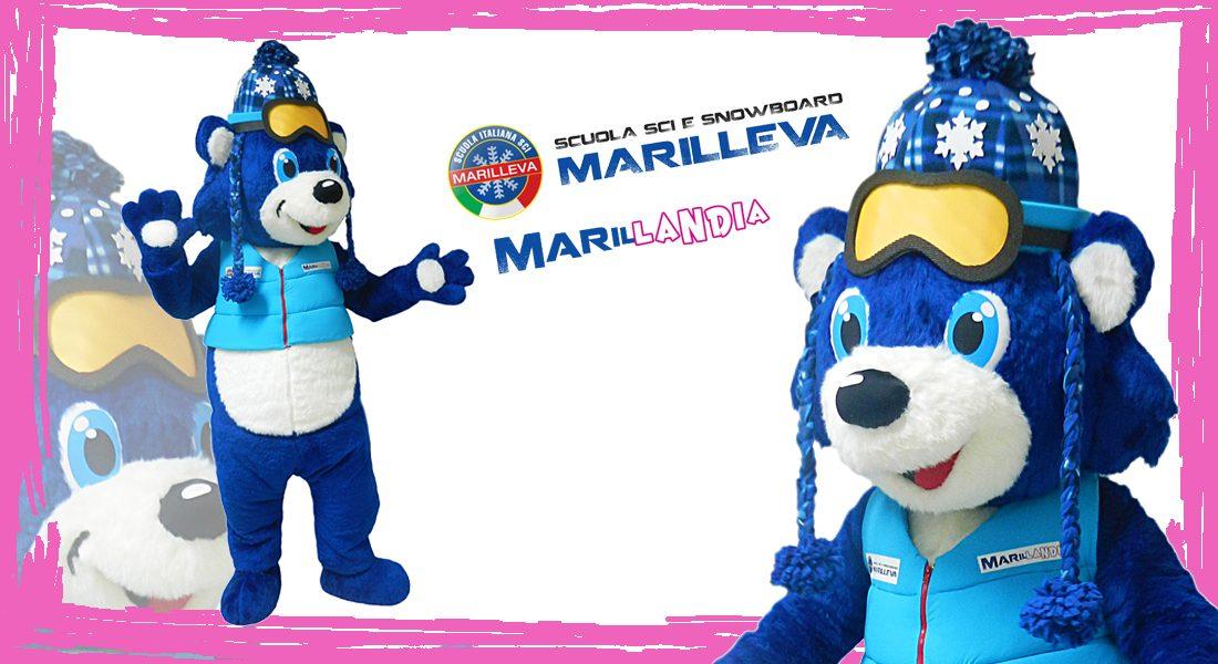 Scuola italiana sci Marilleva Mascotte Achille