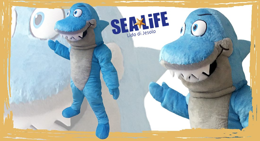 Sea Life Mascotte