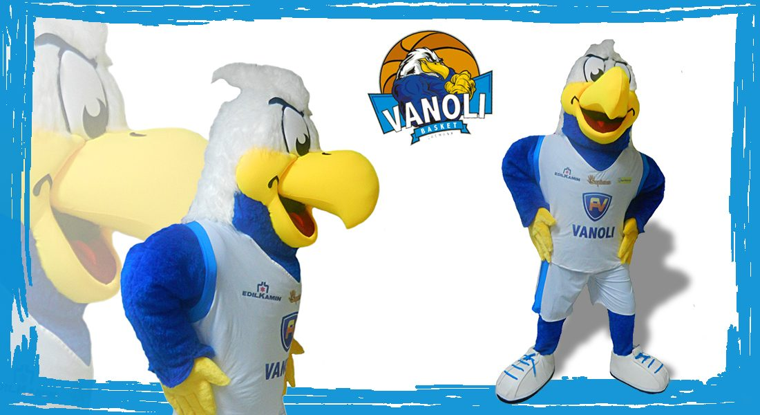Vanoli Basket Fred il Falco Mascotte